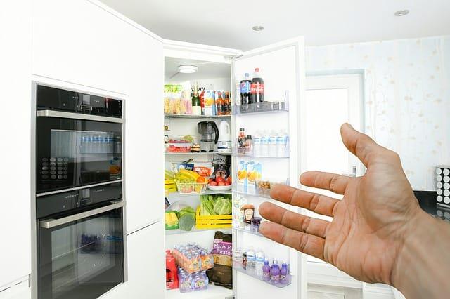 rengjøring, kjøleskap
