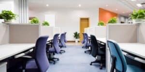 kontorrenhold smitte